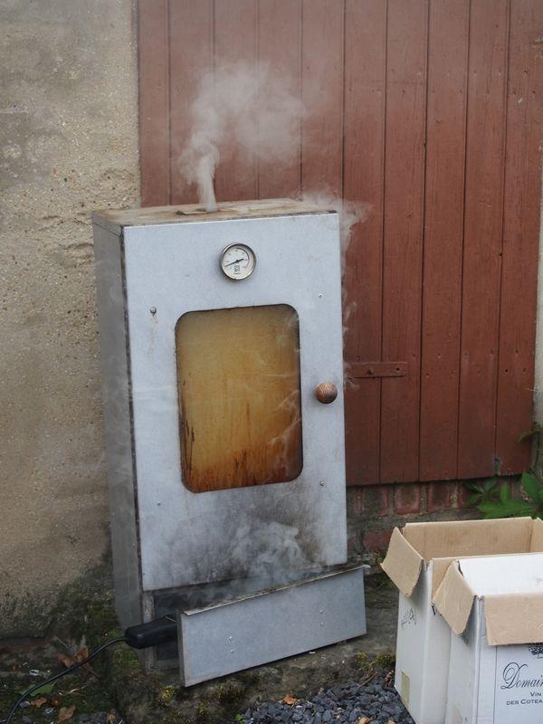 fumage saumon chambres d'hôtes Le Bocage Aisne entre La Capelle et Vervins Picardie 02