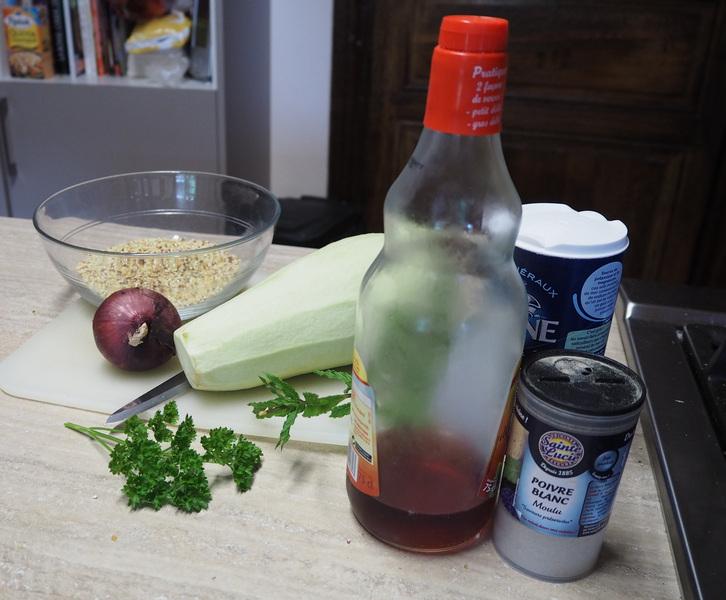 ingrédients salade de quinoa de Thiérache Le Bocage Aisne entre La Capelle et Vervins 02 Picardie