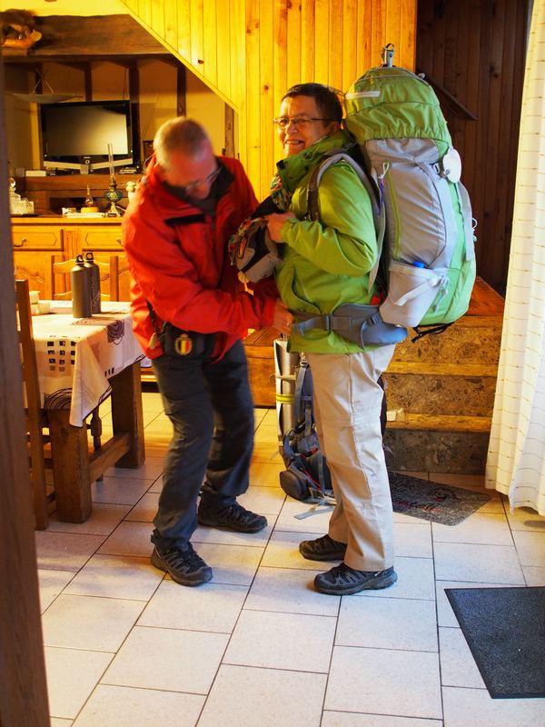 Soirée étape sur la route de Saint Jacques de Compostelle Le Bocage chambres hotes Aisne