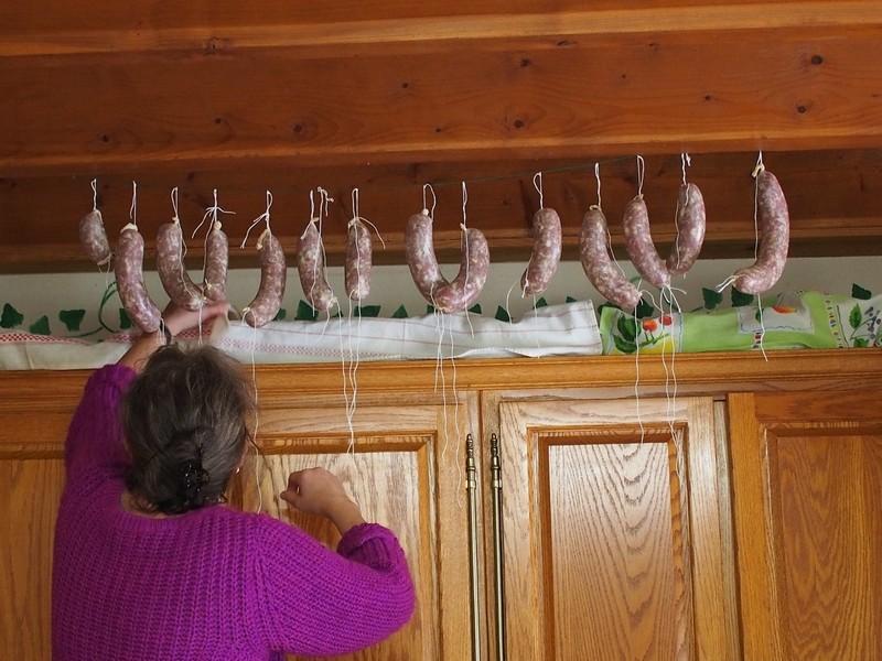 saucissons de Thiérache fabrication maison