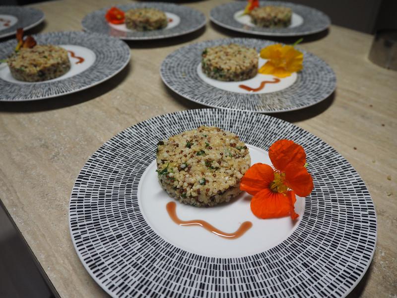 salade et capucine table d'hôte à Sorbais Aisne 02 Picardie